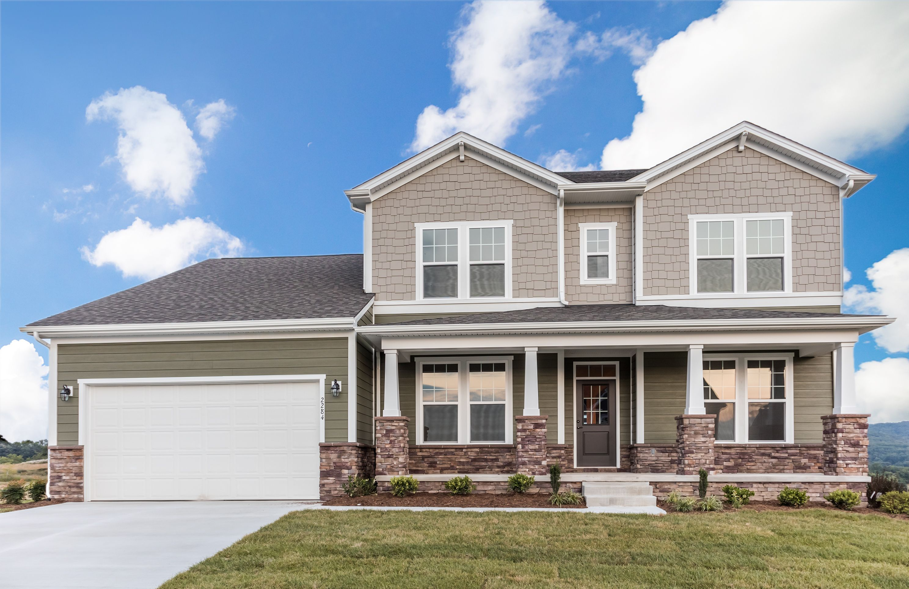 Exterior featured in The Ashland By Stateson Homes in Blacksburg, VA