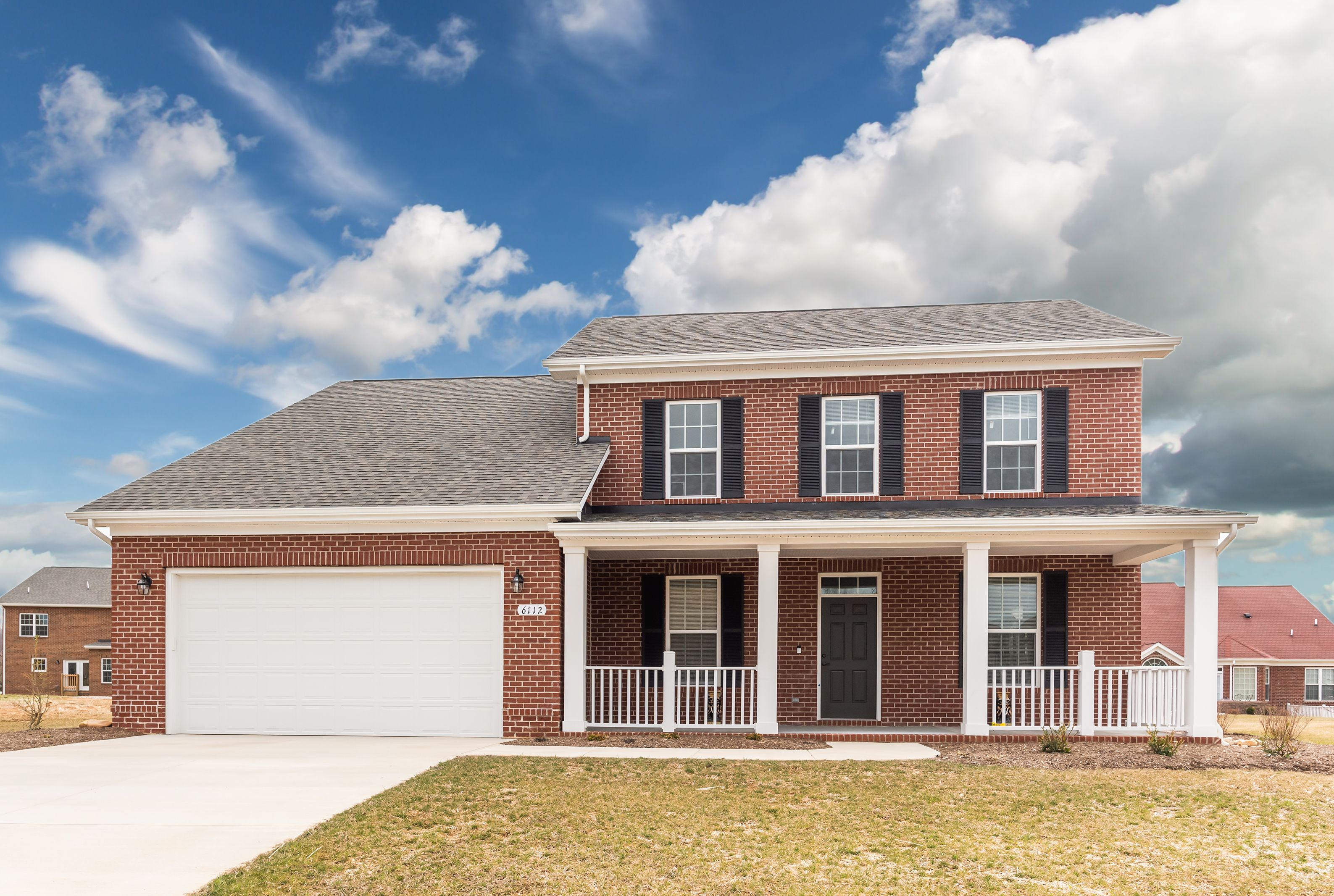Exterior featured in The Eggleston By Stateson Homes in Blacksburg, VA