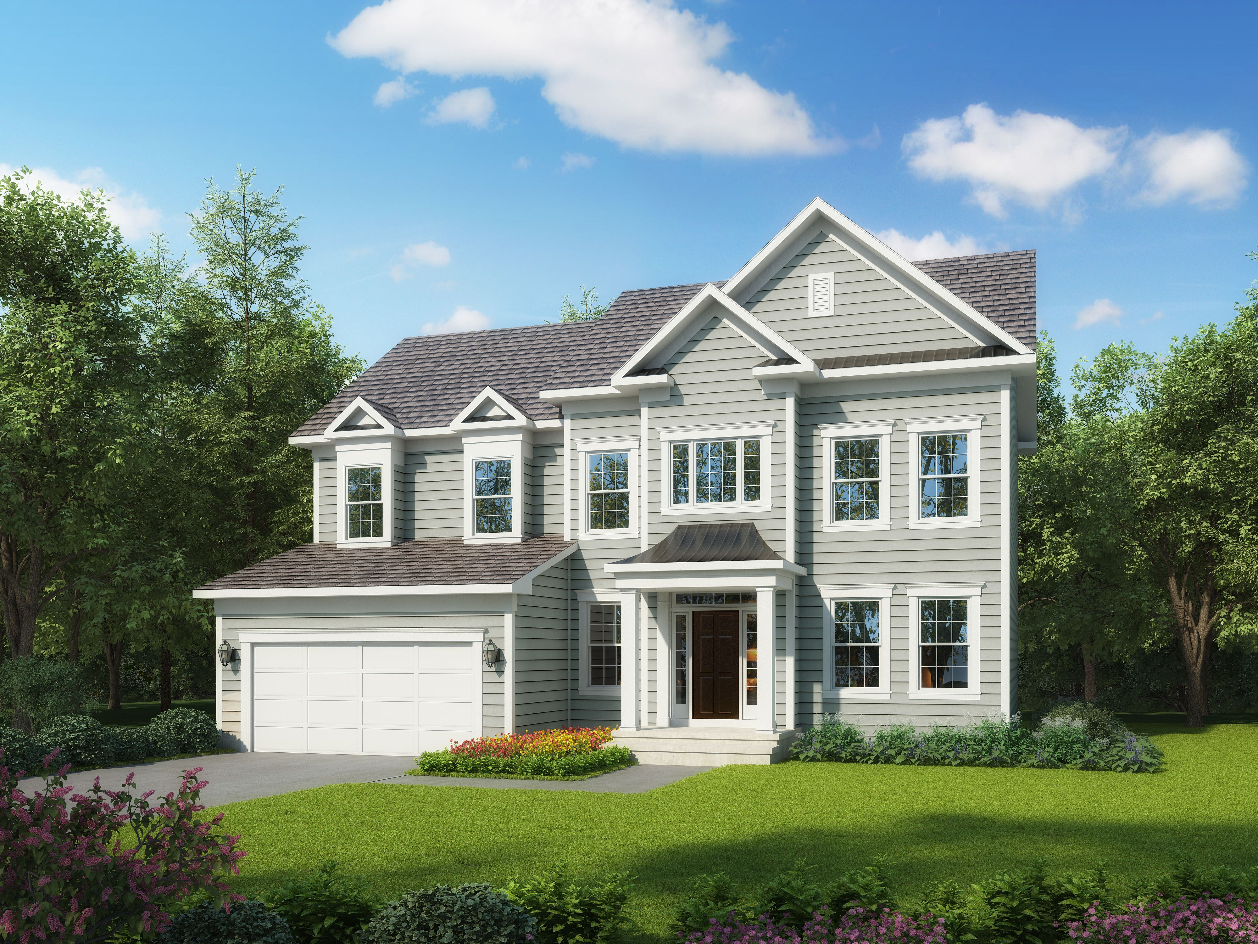 Exterior featured in The Burwell By Stateson Homes in Blacksburg, VA
