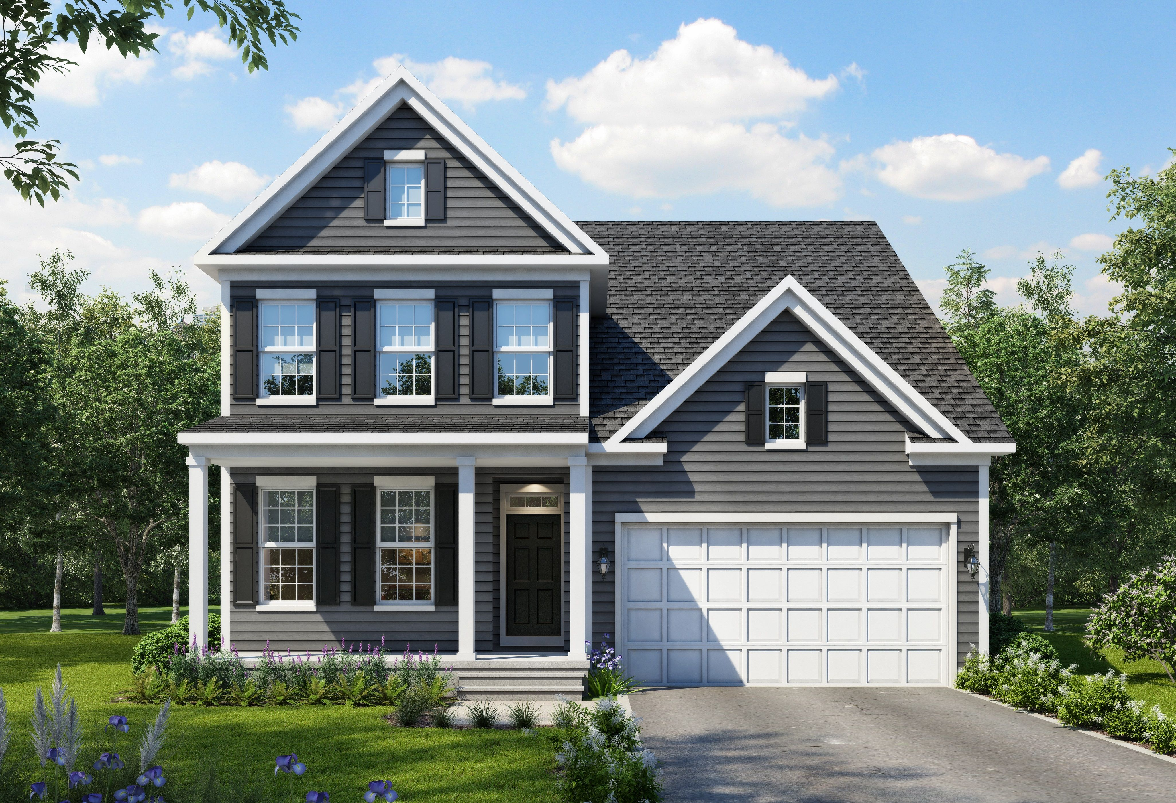 Exterior featured in The Madison By Stateson Homes in Roanoke, VA