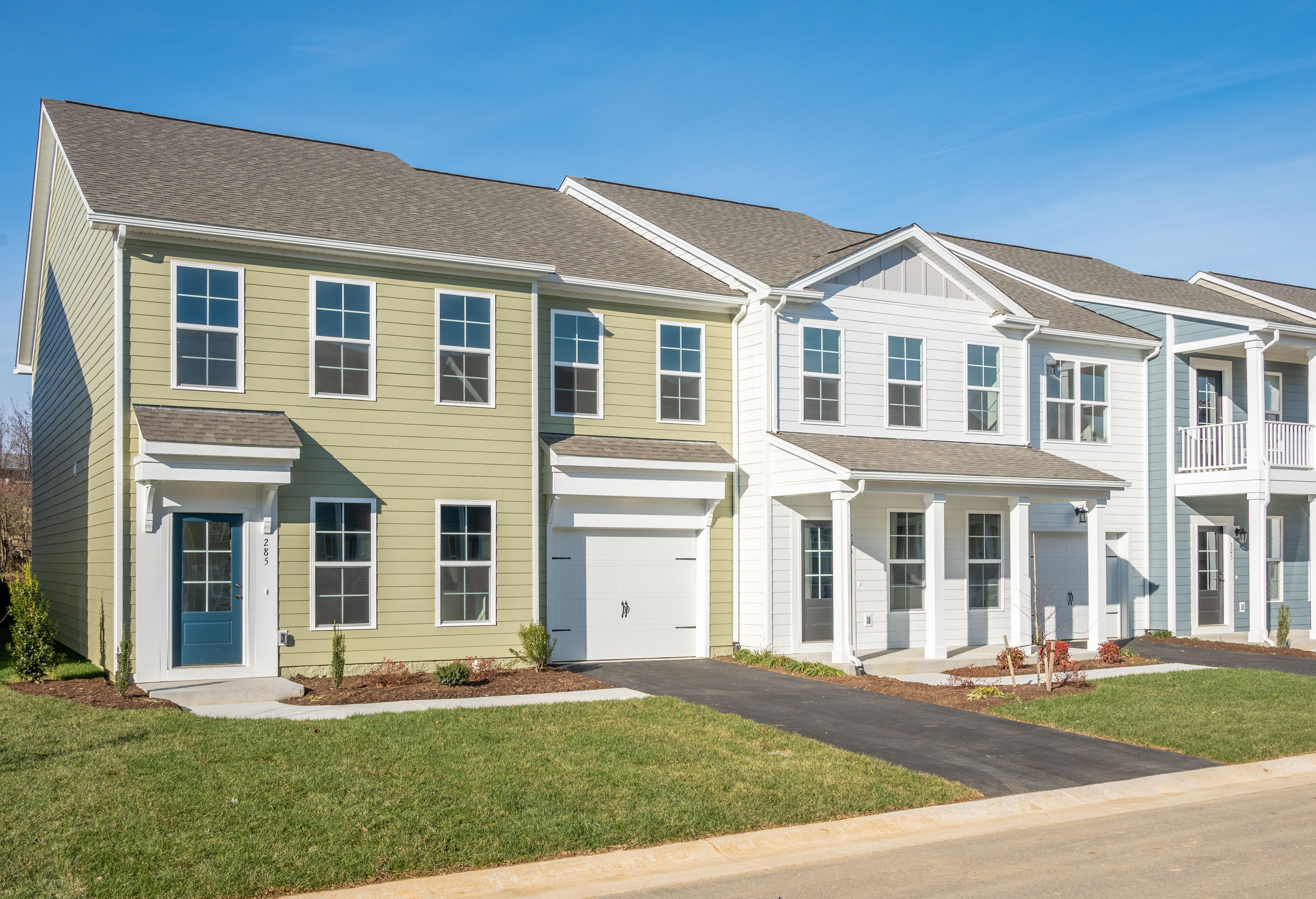 Exterior featured in The Arlington By Stateson Homes in Blacksburg, VA