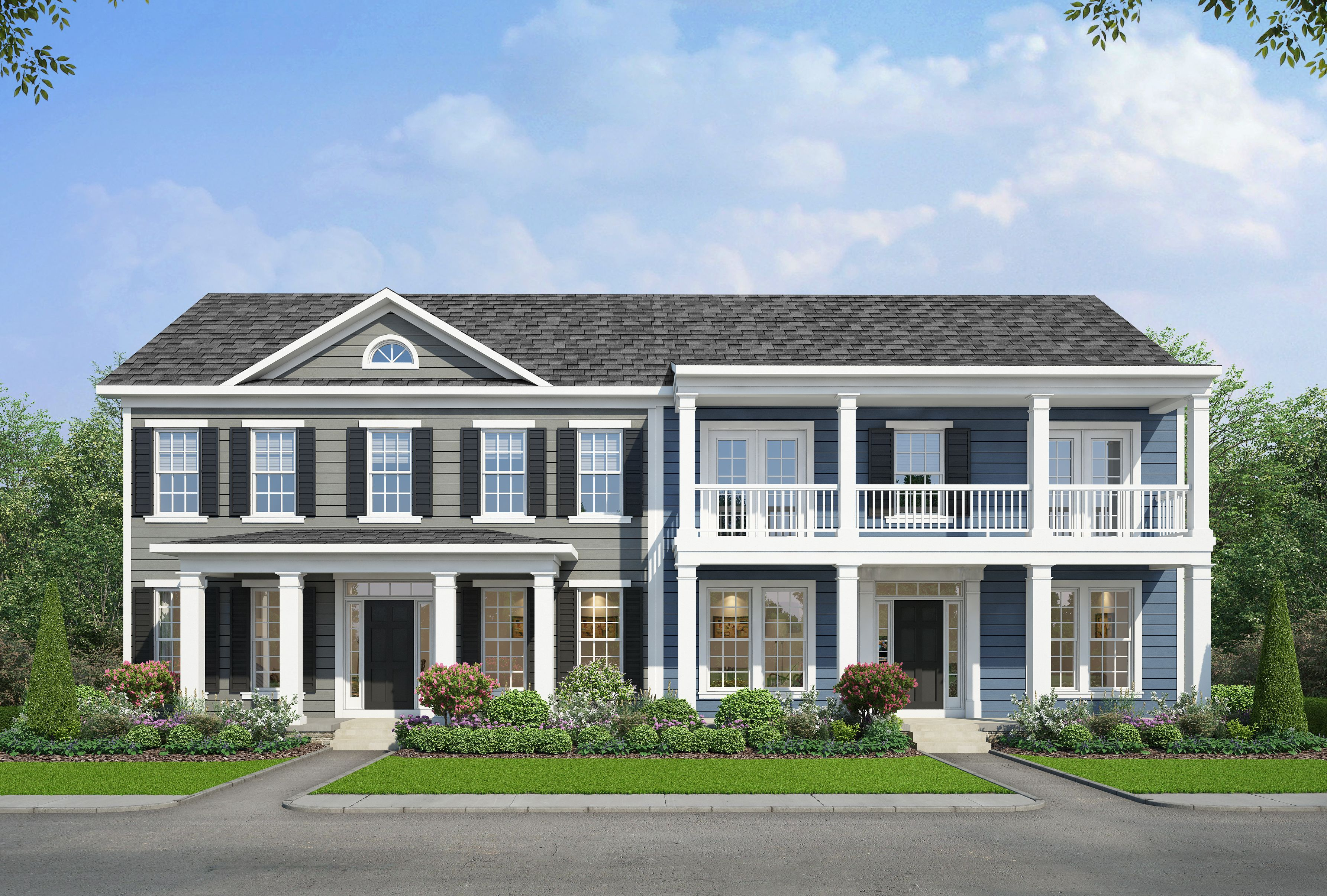 Exterior featured in The Lancaster By Stateson Homes in Roanoke, VA