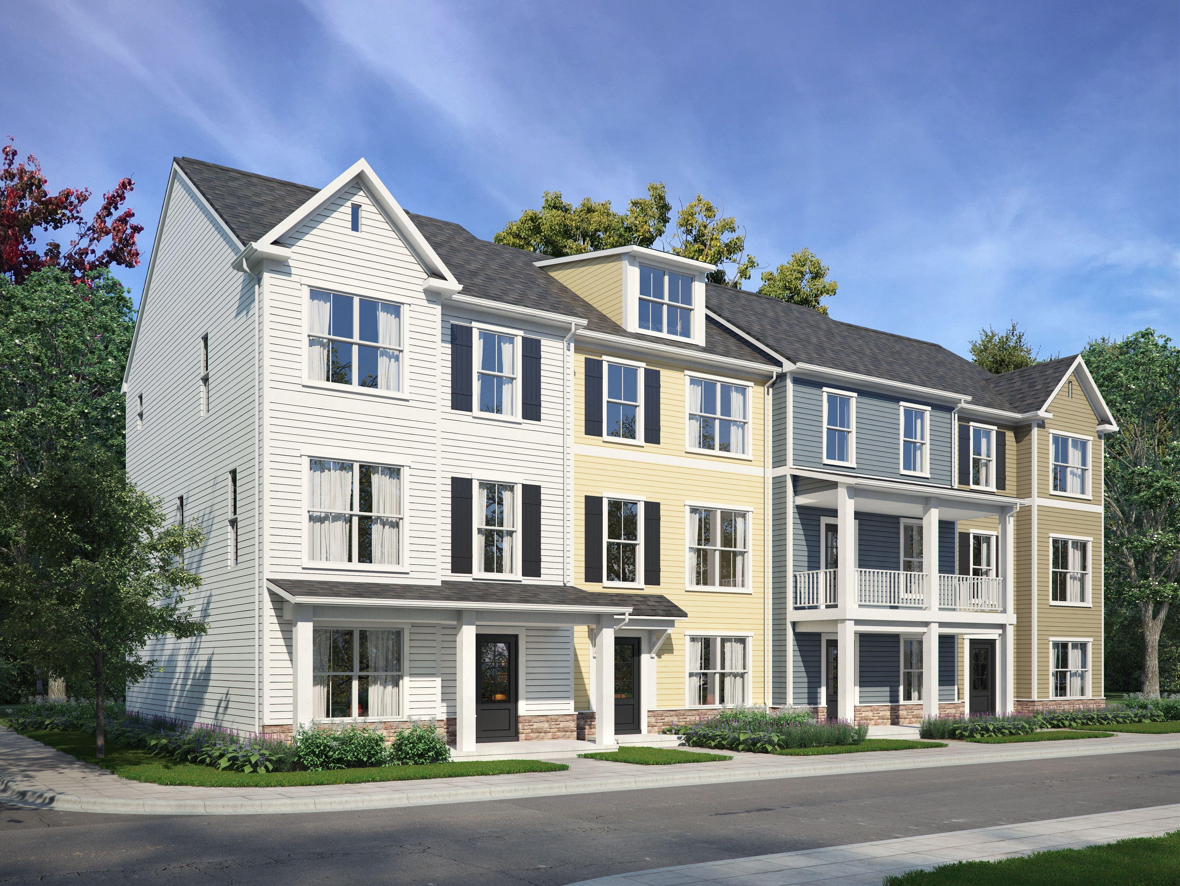 Exterior featured in The Windsor By Stateson Homes in Roanoke, VA