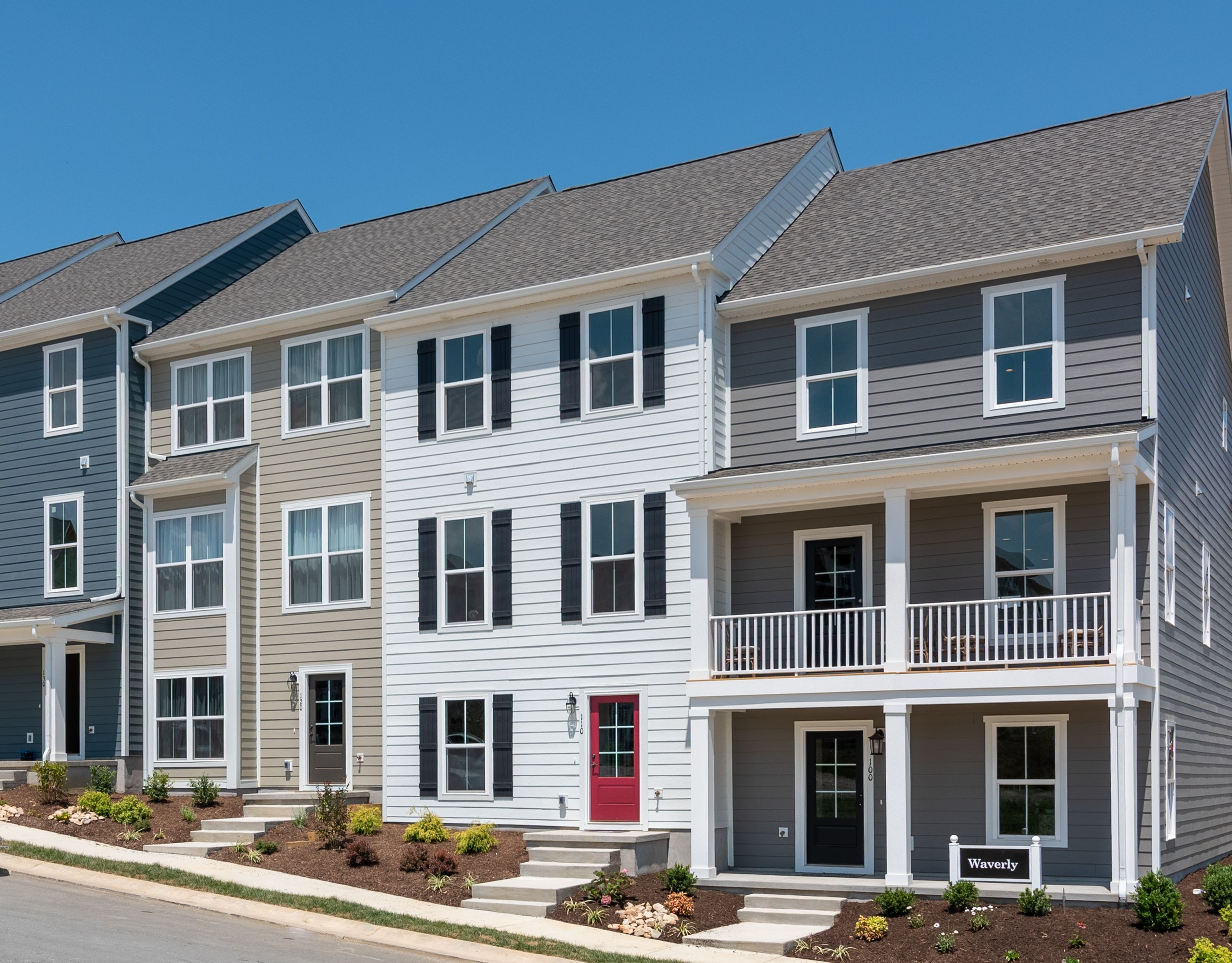 Exterior featured in The Waverly By Stateson Homes in Roanoke, VA