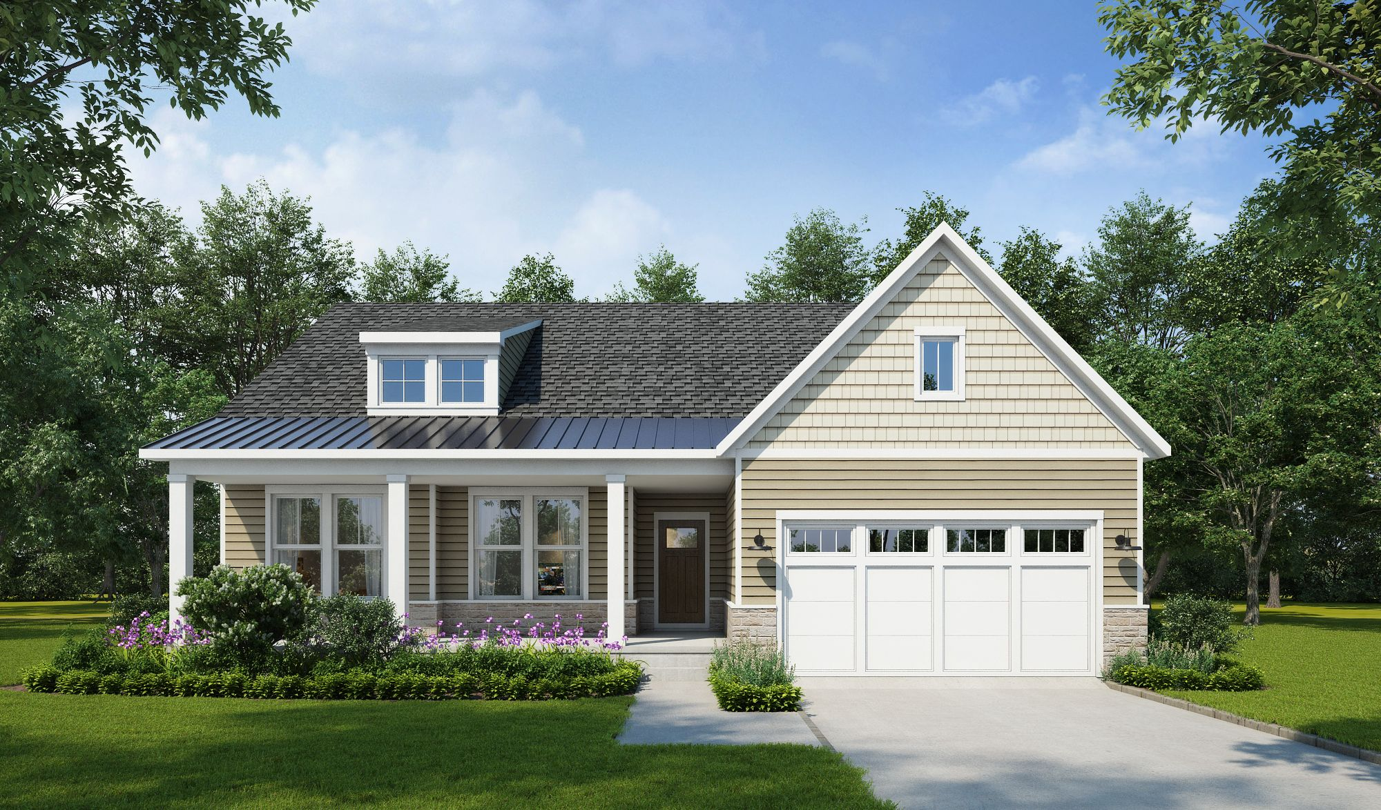 Exterior featured in The Callaway By Stateson Homes in Roanoke, VA