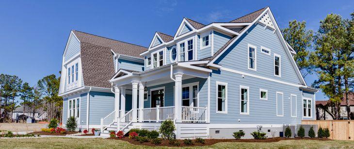 Coastal Virginia Idea House:new master down plan