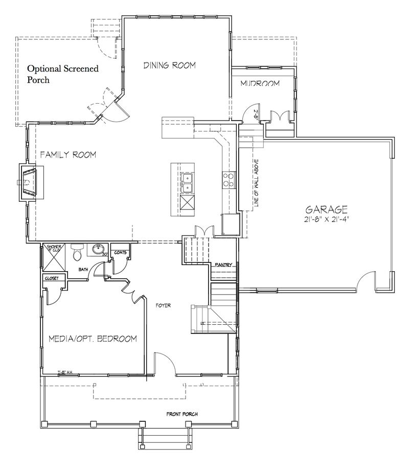 Appomattox First floor elevation D