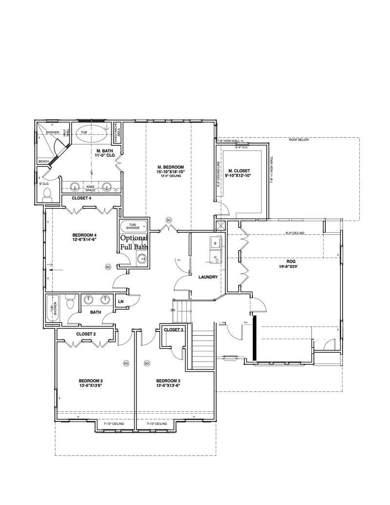 Blacksburg Second Floor