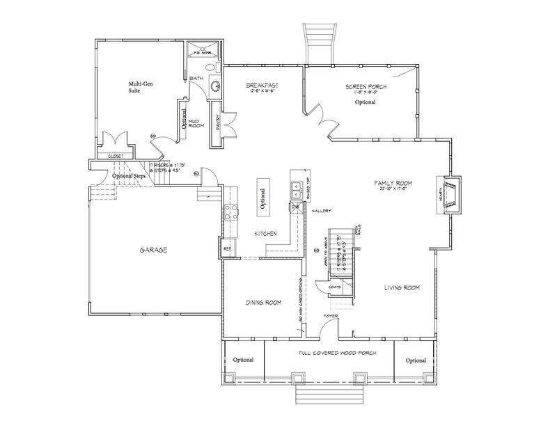 First floor with Multi Gen Suite
