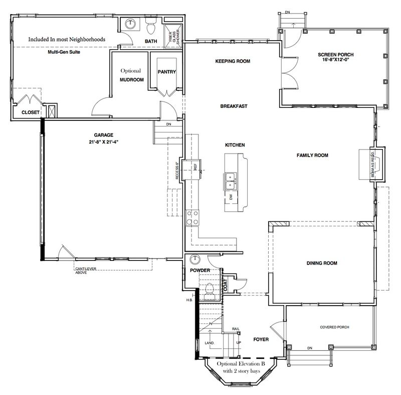 The Waverly Home Plan by Stephen Alexander Homes in Floor Plans – Secure Home Floor Plans