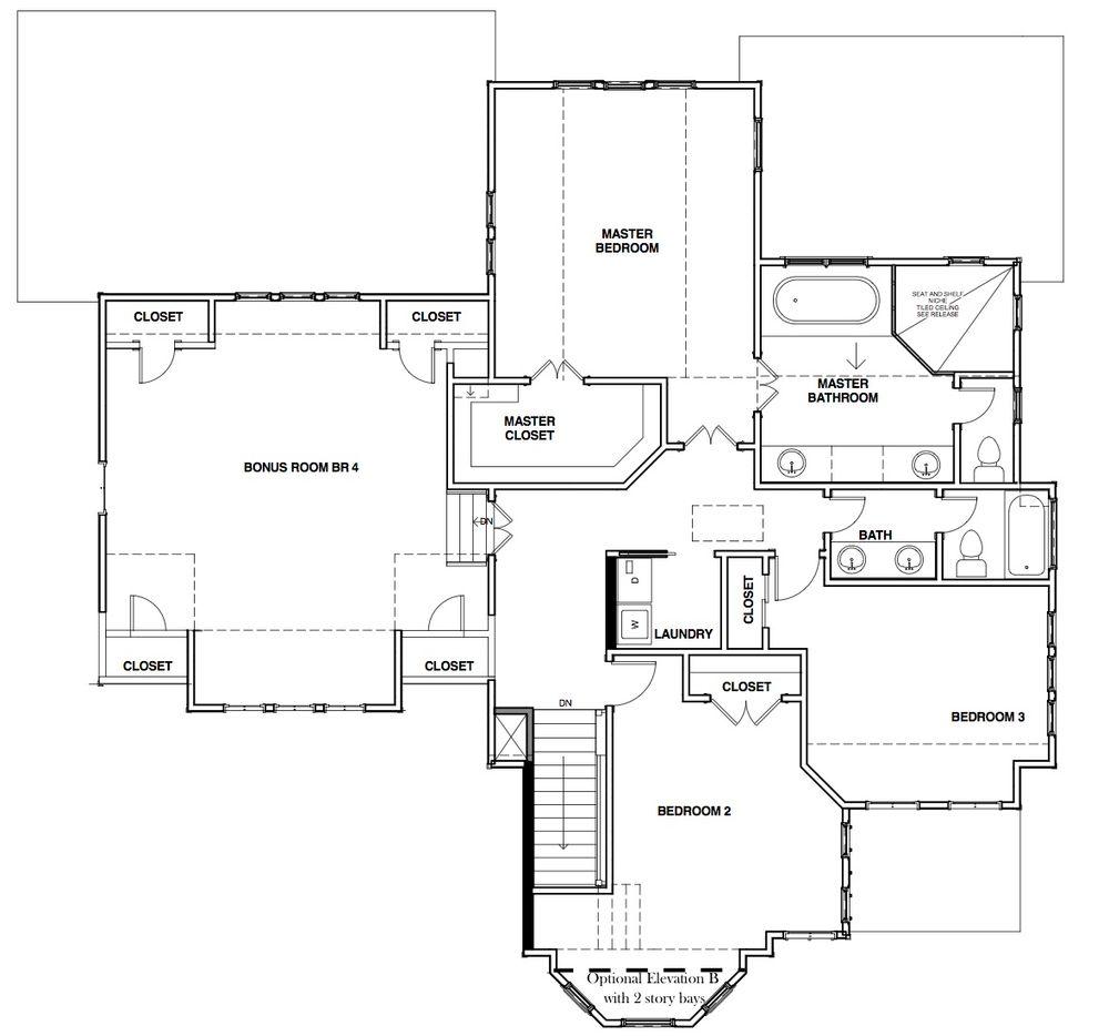 St. Jude Dream Home Culpepper Landing Home Plan by Stephen