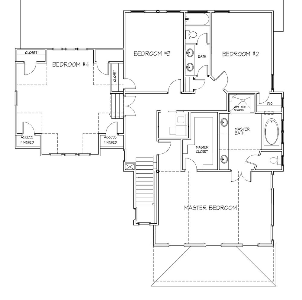 The Chestnut Home Plan by Stephen Alexander Homes in Ashby