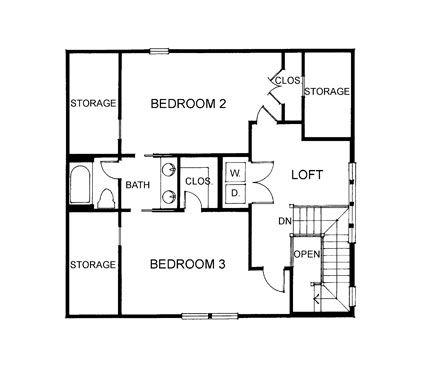 Homearama Blue River Idea House East Beach Home Plan by