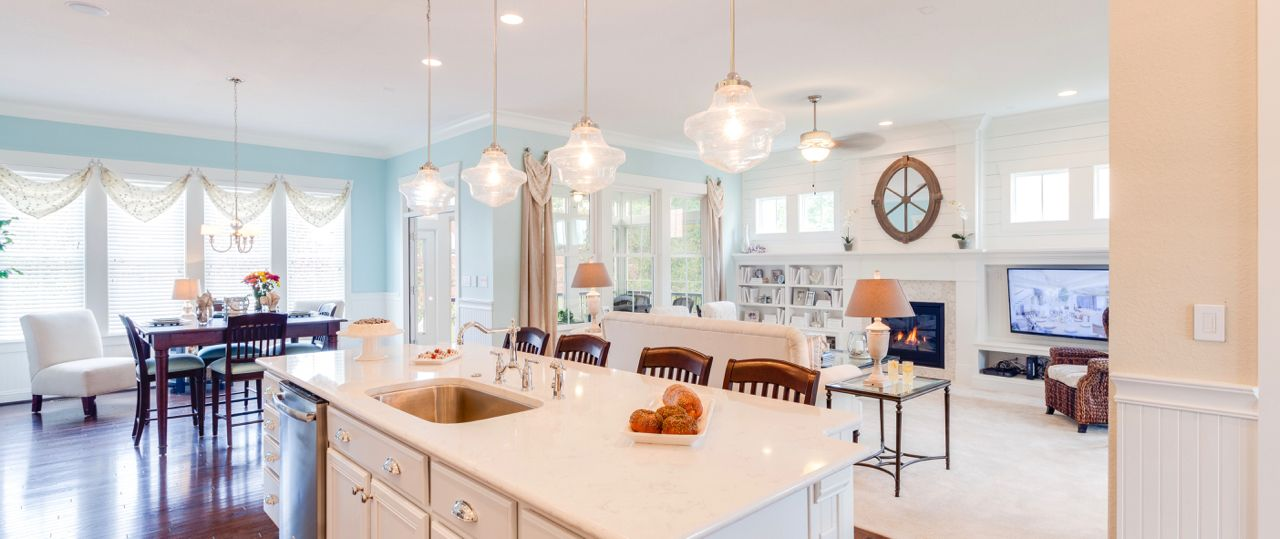 Living Area featured in The Waverly By Stephen Alexander Homes in Outer Banks, NC