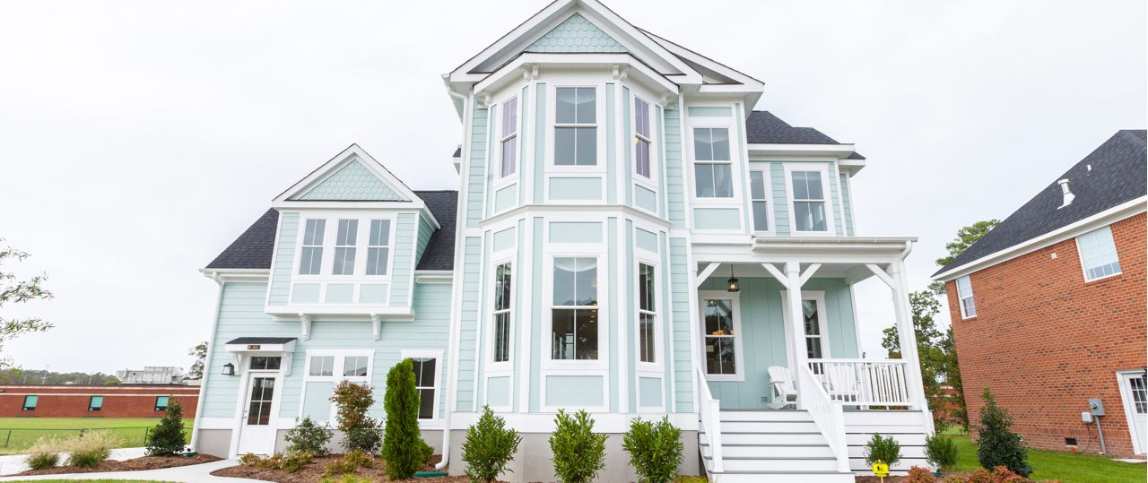 Exterior featured in The Waverly By Stephen Alexander Homes in Outer Banks, NC