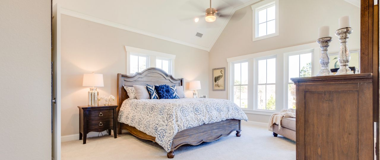 Bedroom featured in The Waverly By Stephen Alexander Homes in Outer Banks, NC