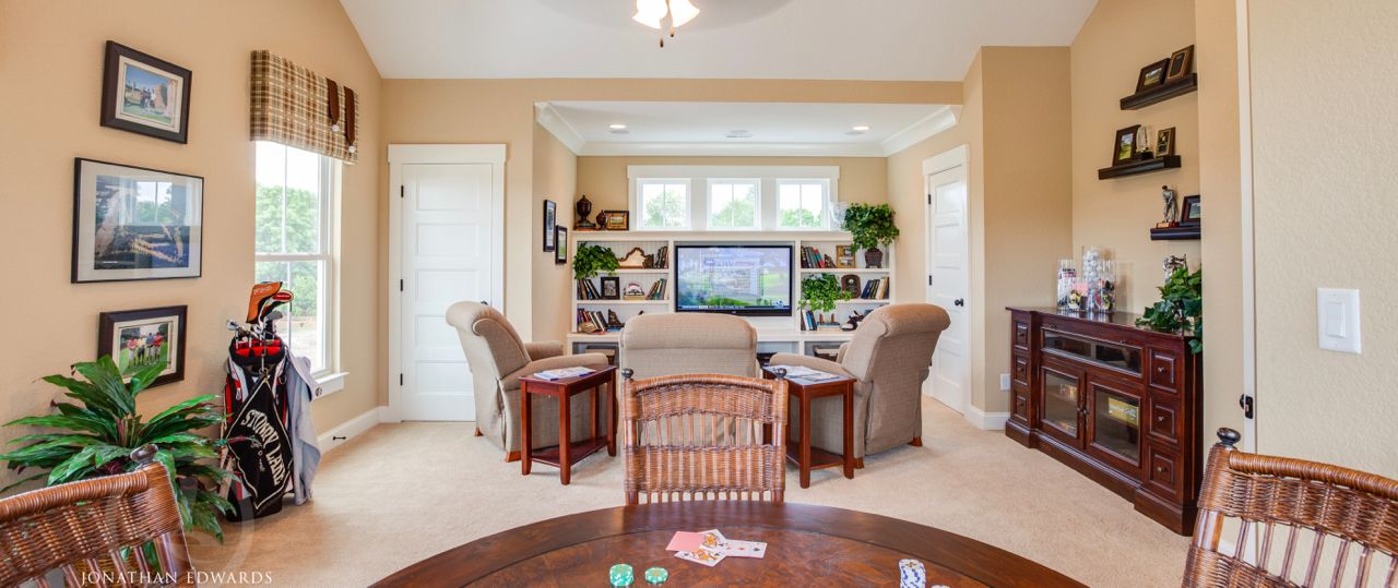 Living Area featured in The Caramel Cottage By Stephen Alexander Homes in Norfolk-Newport News, VA