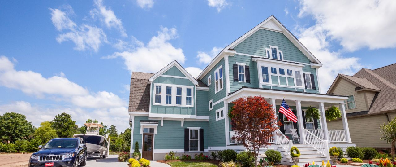 Exterior featured in The Caramel Cottage By Stephen Alexander Homes in Norfolk-Newport News, VA