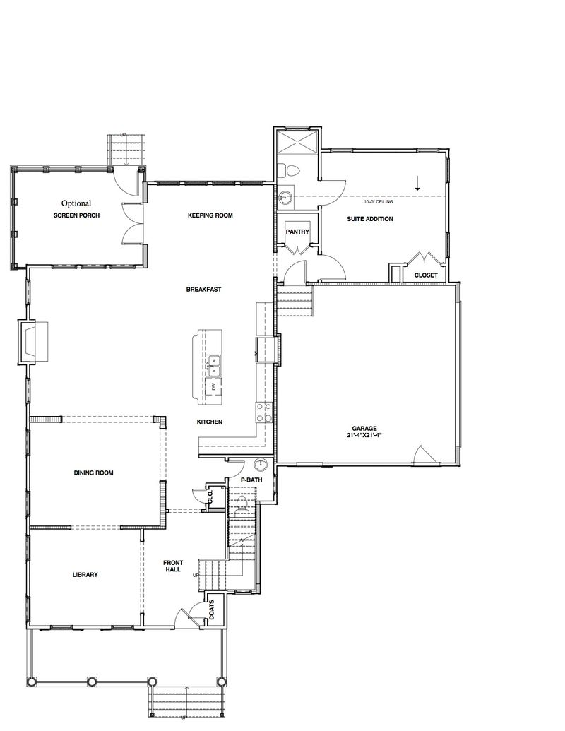The willow home plan by stephen alexander homes in floor plans for The willow house plan