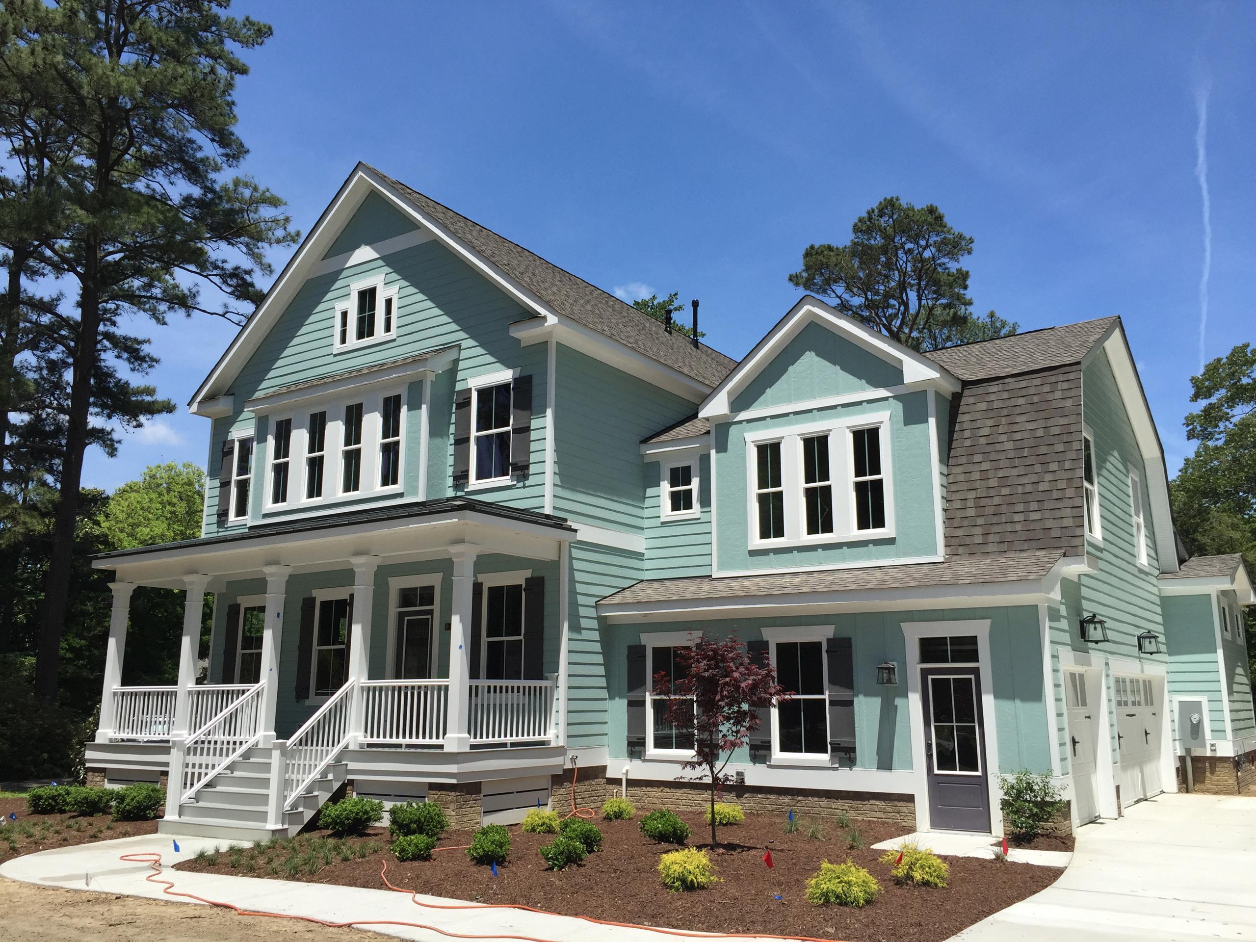 Exterior featured in The Blacksburg By Stephen Alexander Homes in Norfolk-Newport News, VA