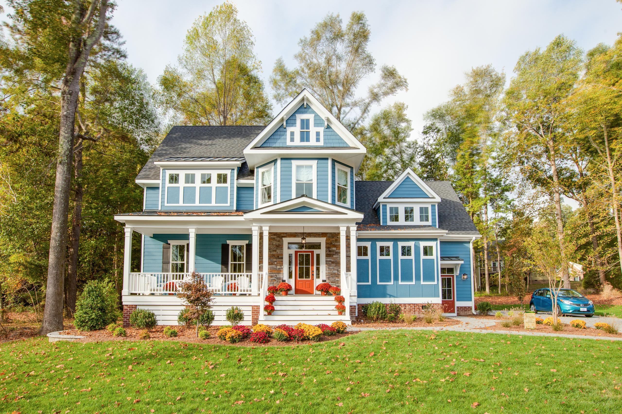 Exterior featured in The Bridgewater II By Stephen Alexander Homes in Norfolk-Newport News, VA