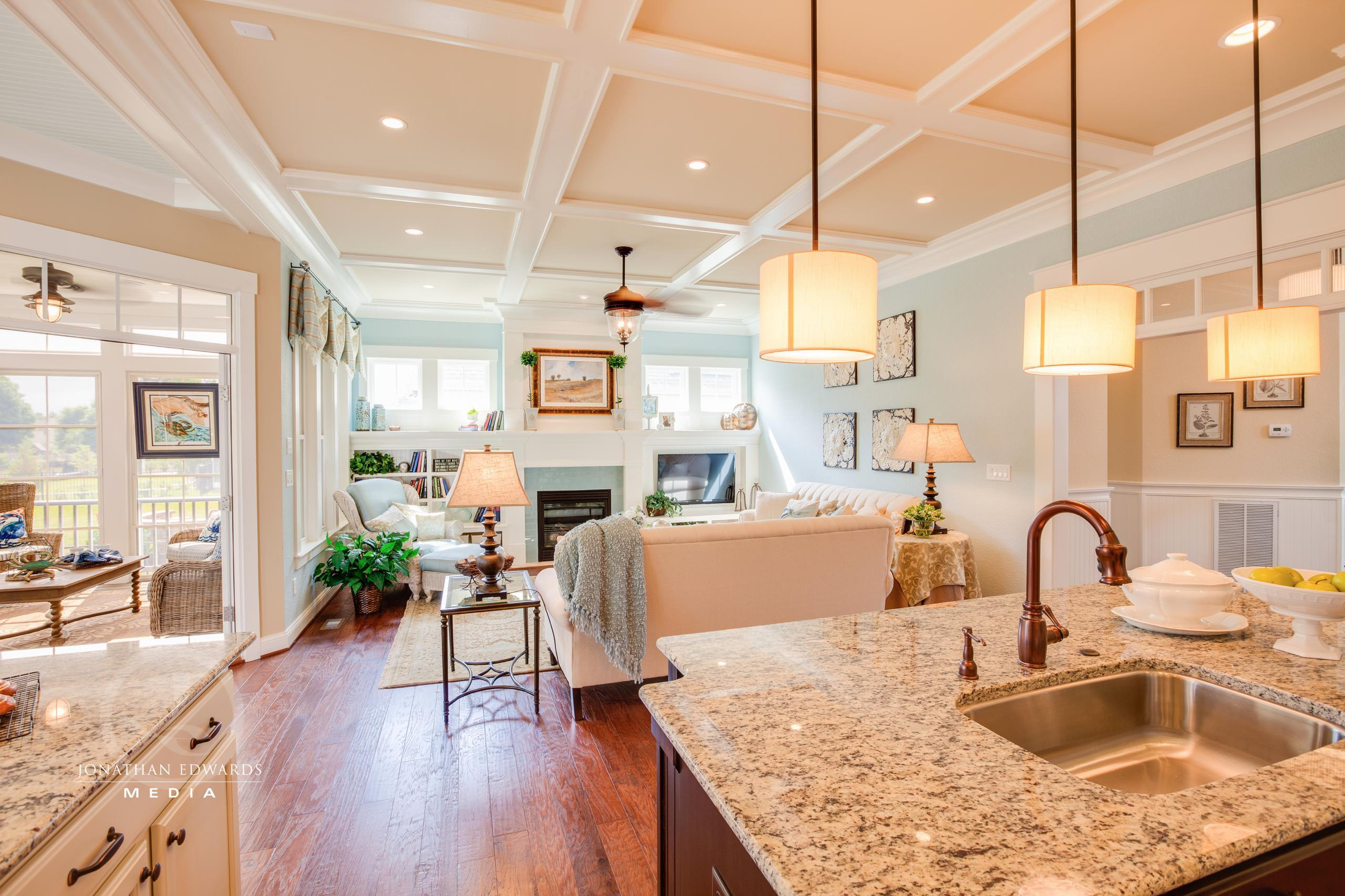 Living Area featured in the Ashland By Stephen Alexander Homes in Norfolk-Newport News, VA