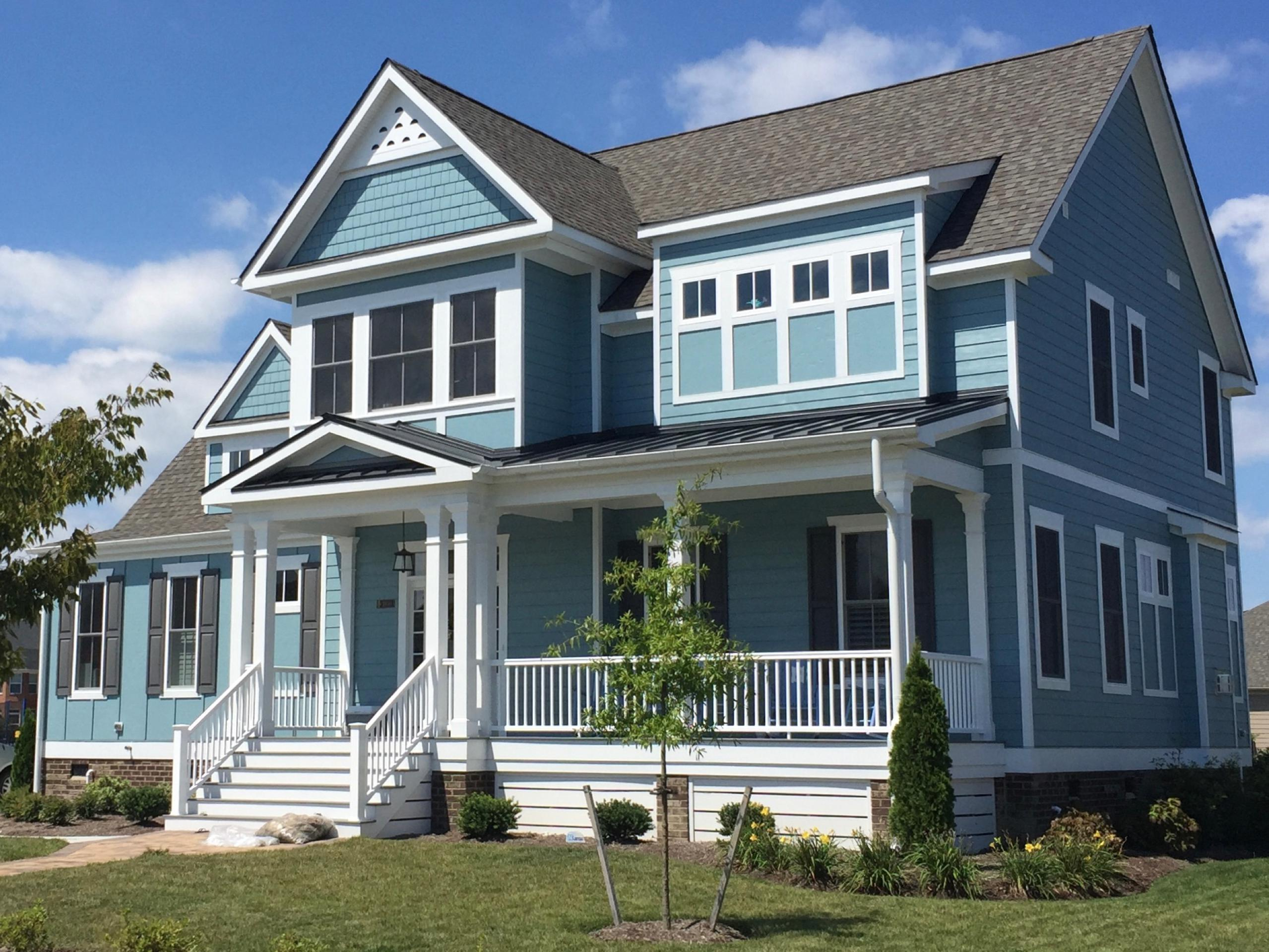 Exterior featured in the Southport By Stephen Alexander Homes in Norfolk-Newport News, VA
