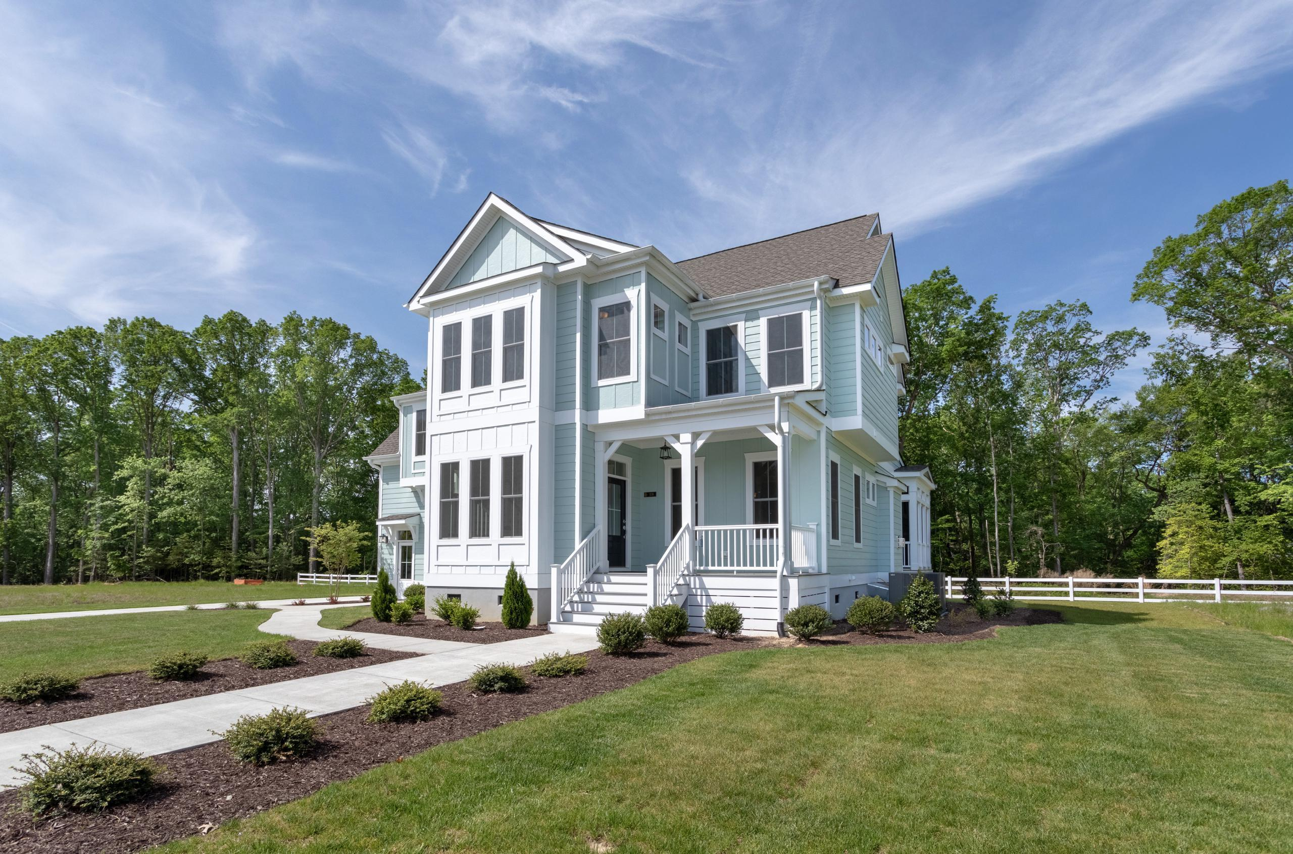 Exterior featured in The Waverly By Stephen Alexander Homes in Norfolk-Newport News, VA