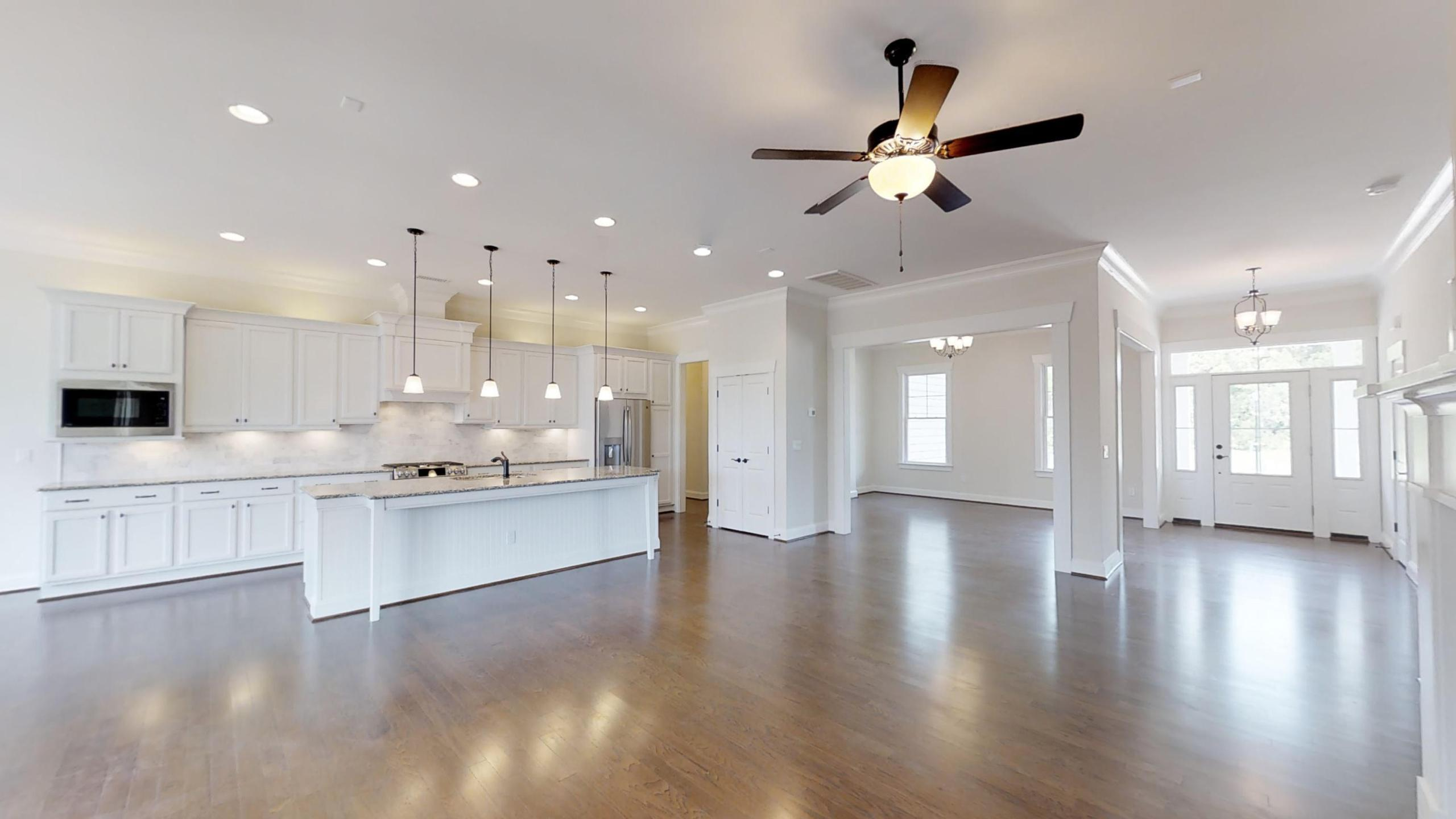 Kitchen featured in The Bayou Cottage By Stephen Alexander Homes in Outer Banks, NC