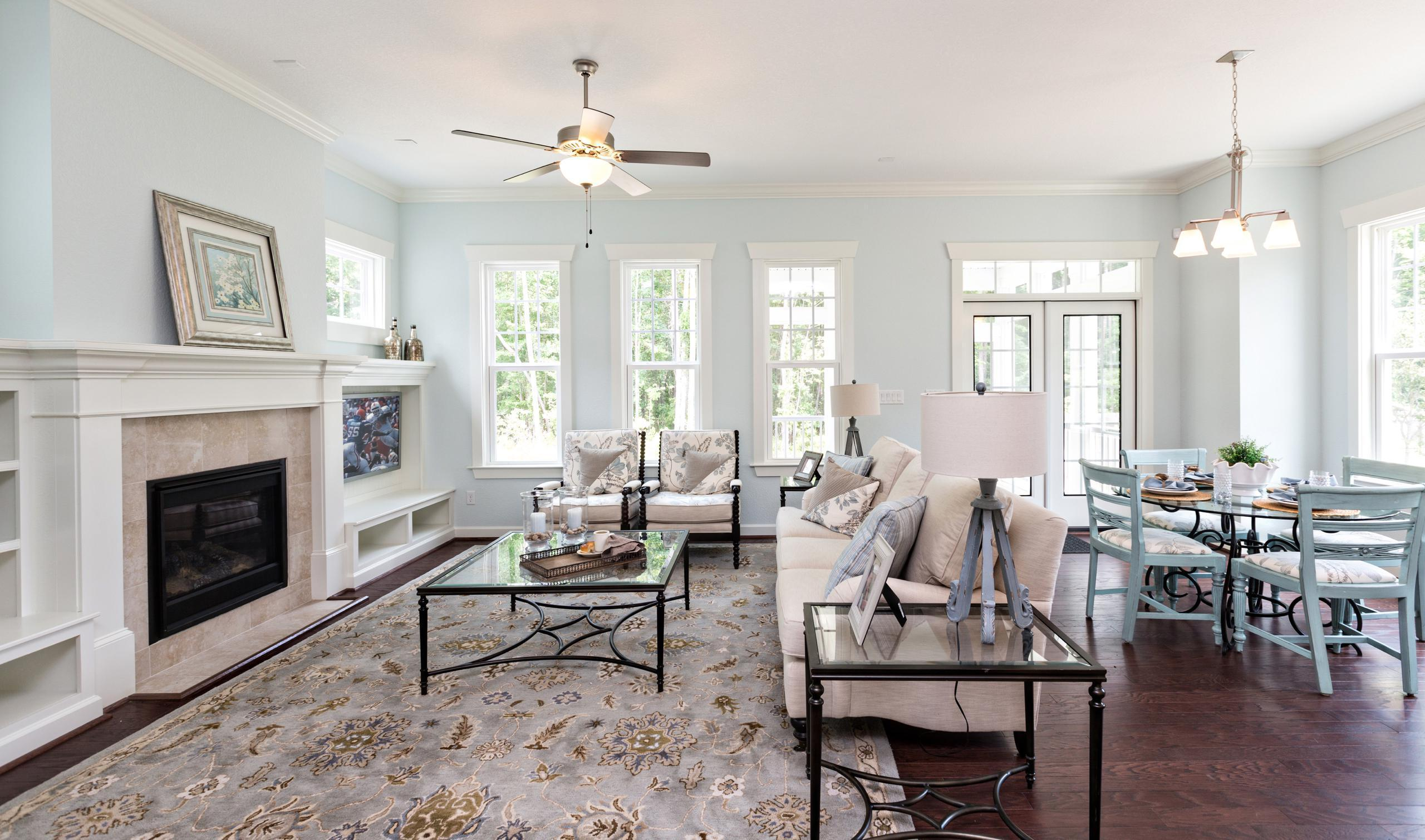 Living Area featured in The Plum Meadow Cottage By Stephen Alexander Homes in Outer Banks, NC