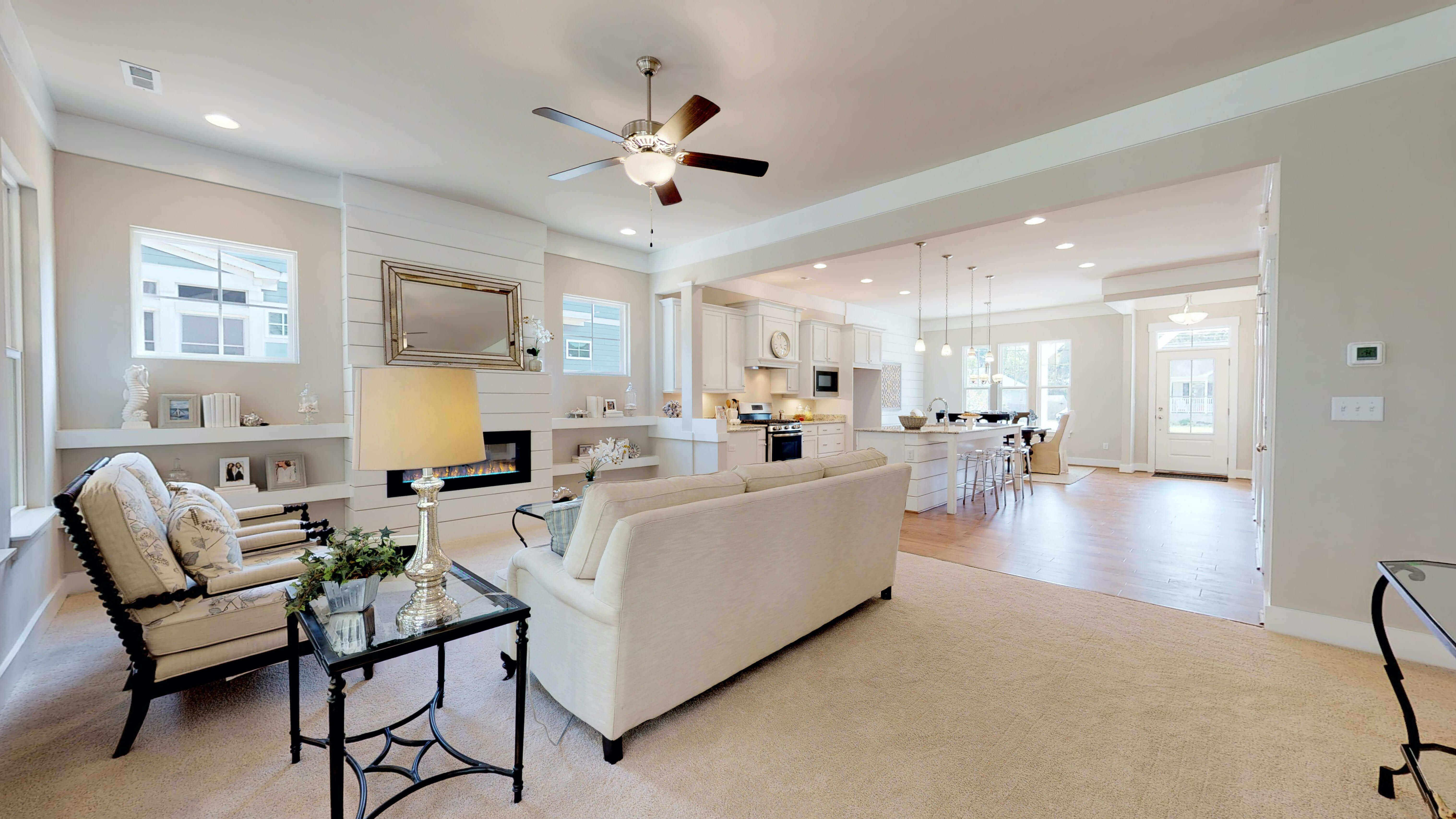 Living Area featured in the Cape Charles By Stephen Alexander Homes in Outer Banks, NC