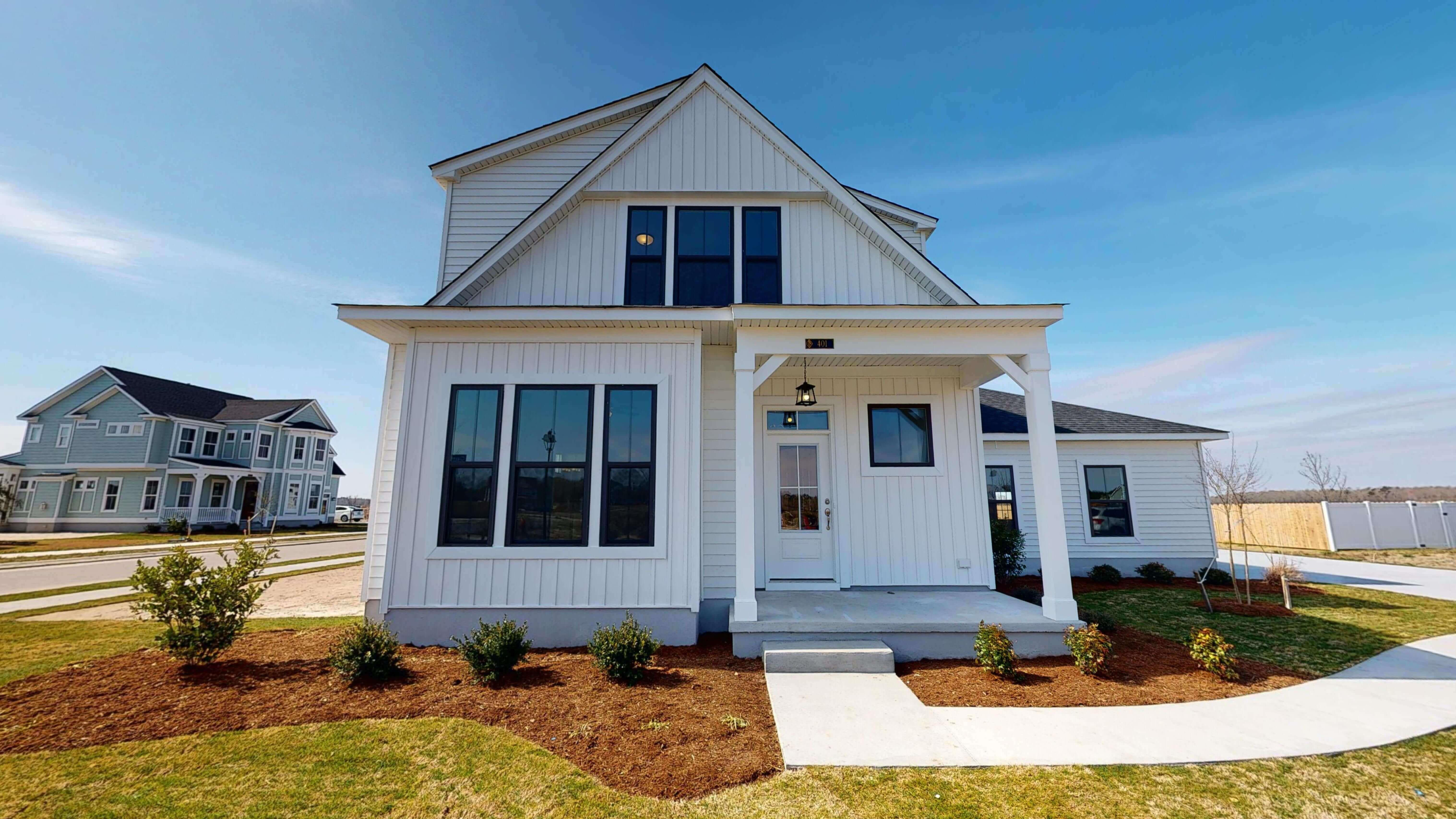 Exterior featured in the Nottoway Farmhouse By Stephen Alexander Homes in Outer Banks, NC
