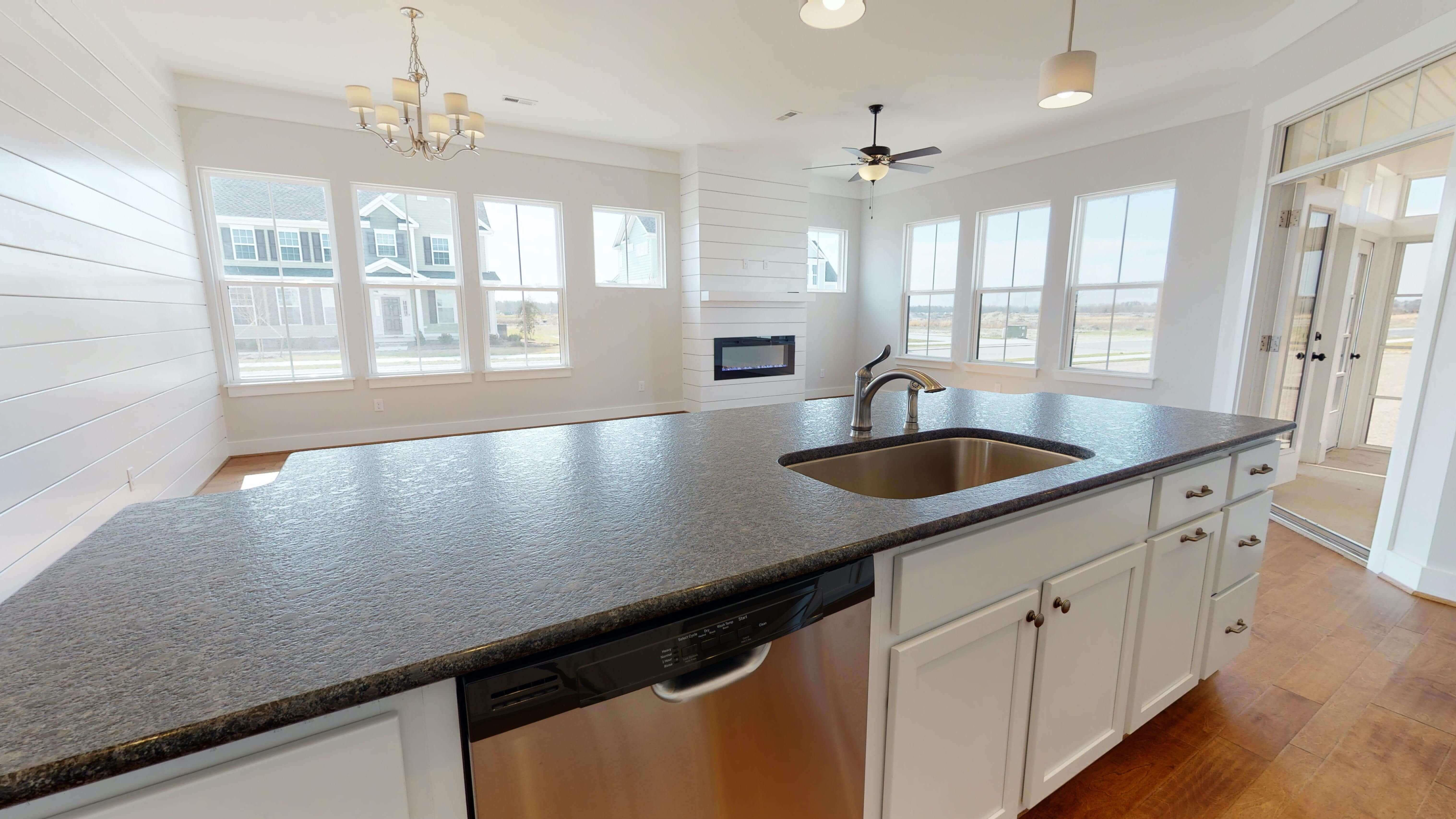 Kitchen featured in the Nottoway Farmhouse By Stephen Alexander Homes in Outer Banks, NC