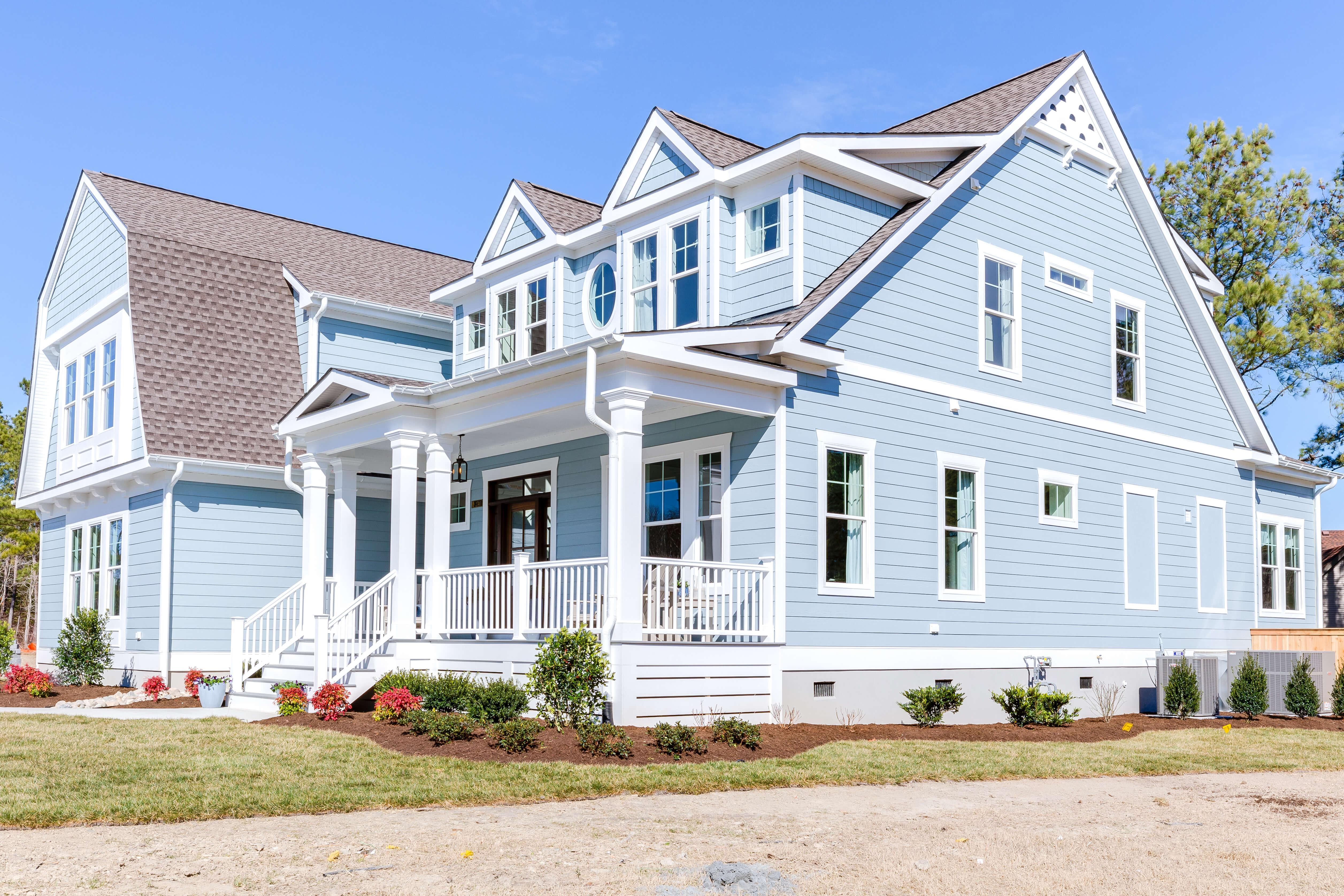 Exterior featured in The Gloucester By Stephen Alexander Homes in Norfolk-Newport News, VA