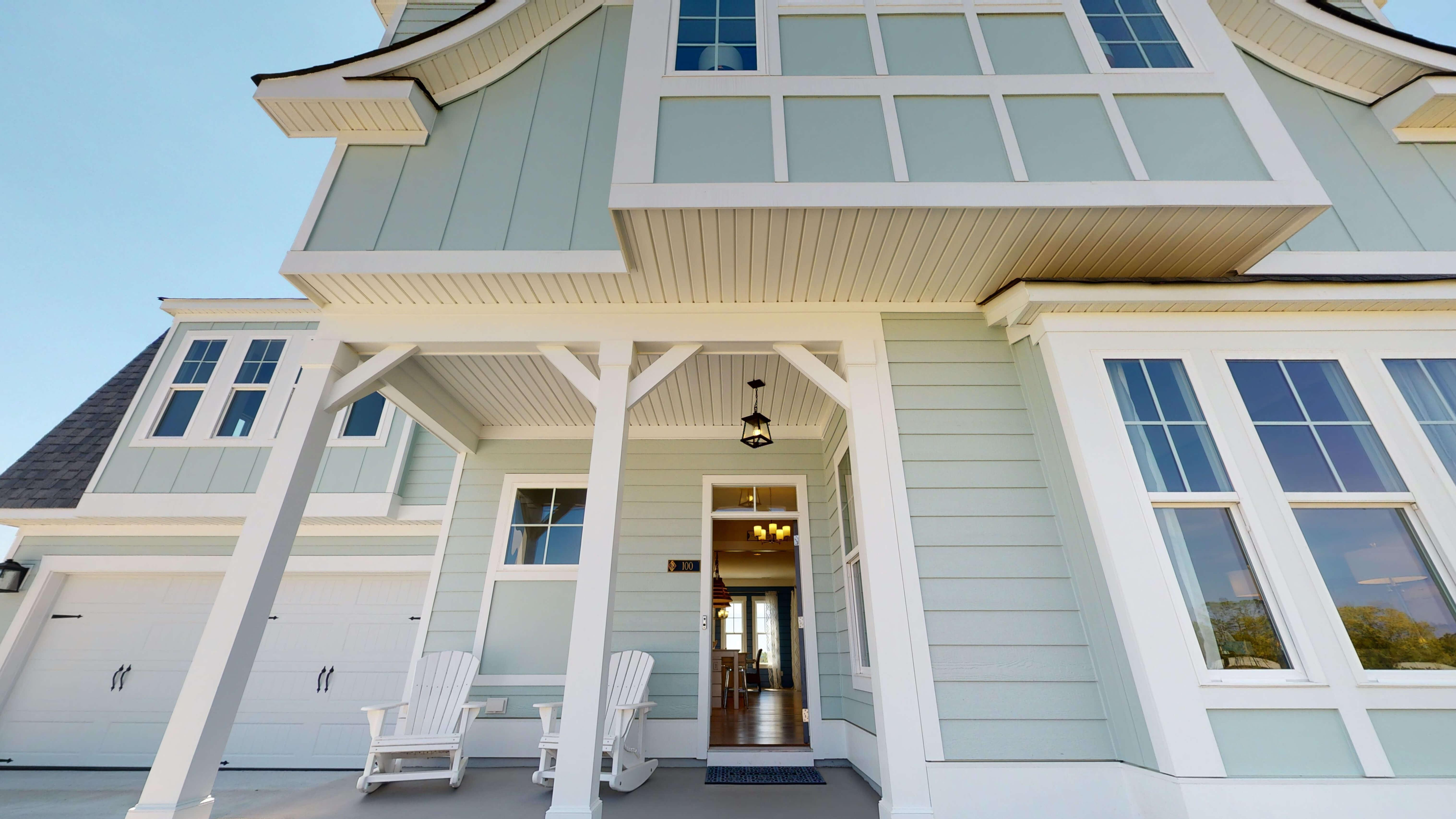 'Waterleigh' by Stephen Alexander Homes in Outer Banks