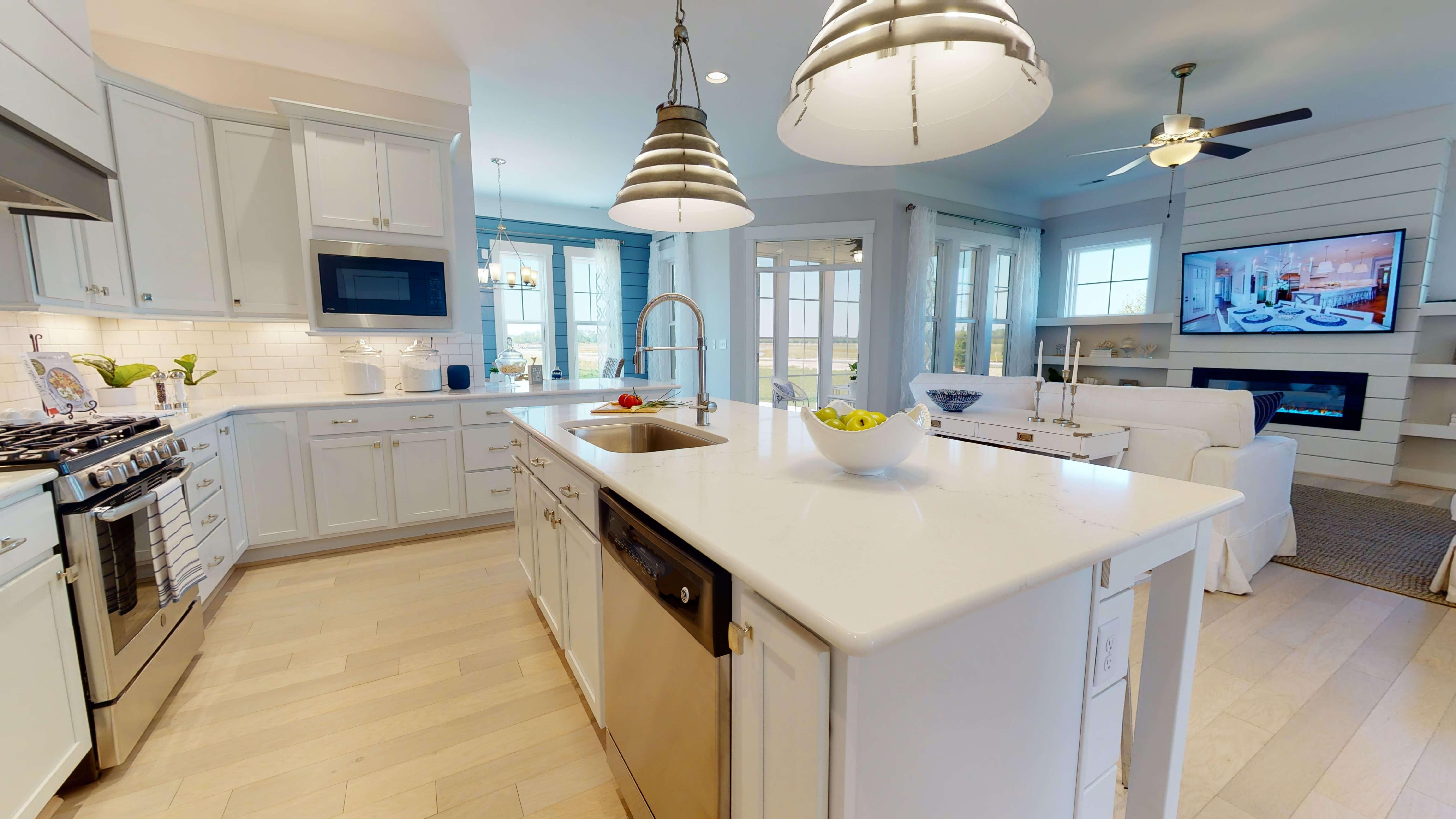 Kitchen featured in The Caramel By Stephen Alexander Homes in Outer Banks, NC