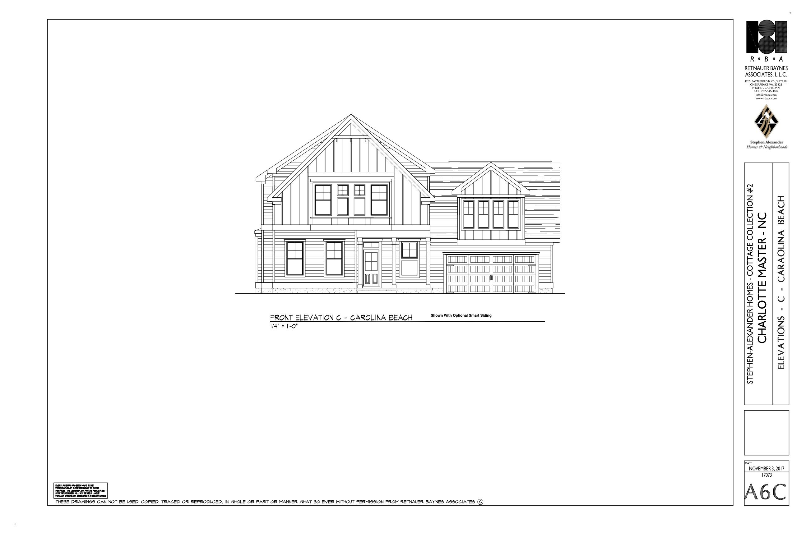 Exterior featured in the Cottage Charlotte By Stephen Alexander Homes in Outer Banks, NC