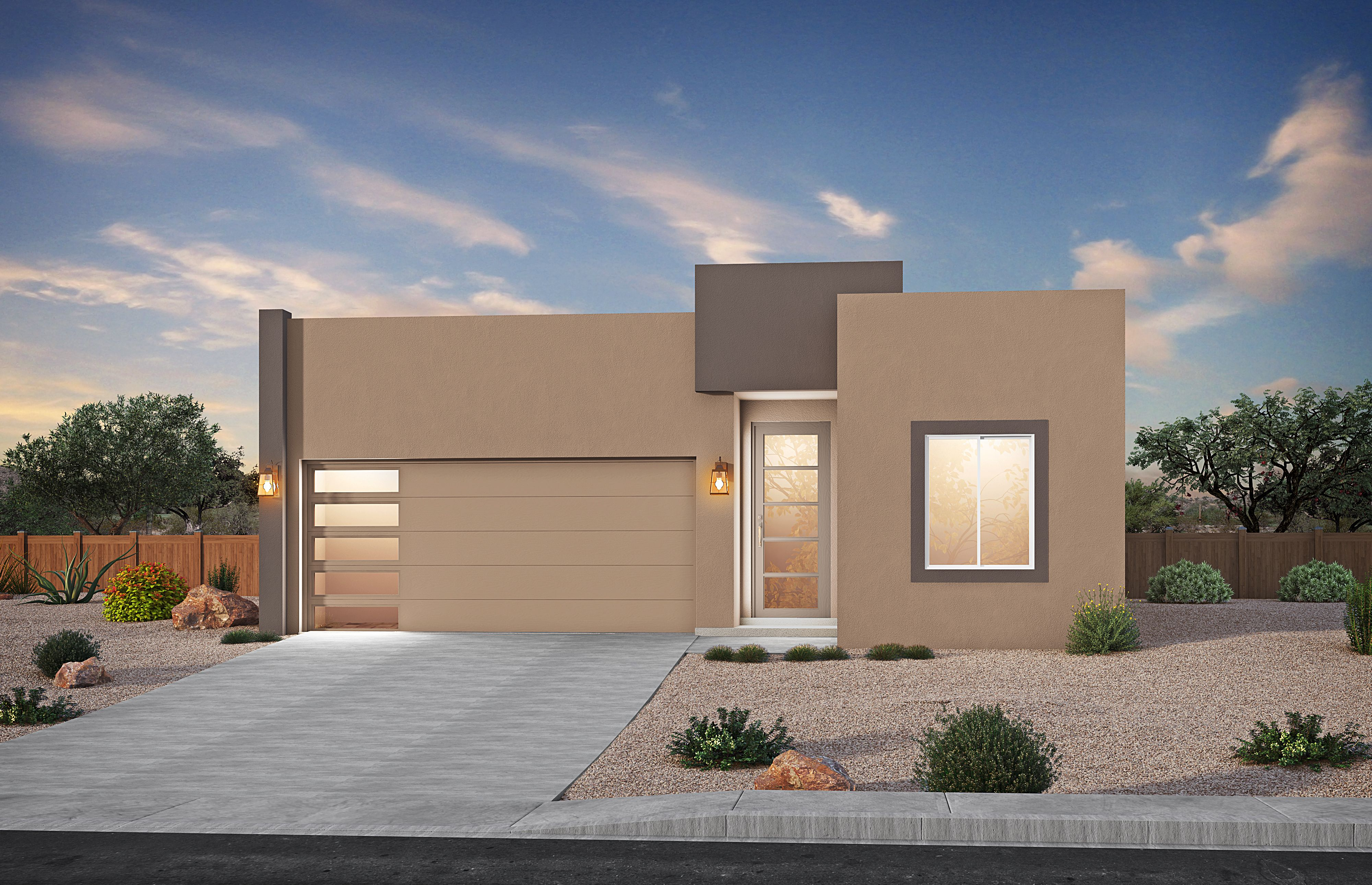 Exterior featured in The Saliceto By Stillbrooke Homes in Albuquerque, NM