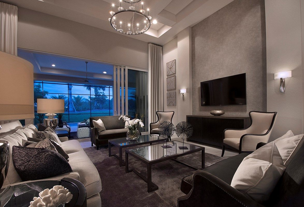 Living Area featured in the Madison By Stock Development in Naples, FL