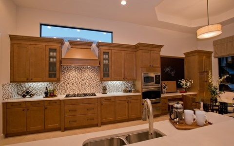 Kitchen featured in the Scottsdale II By Stock Development in Naples, FL