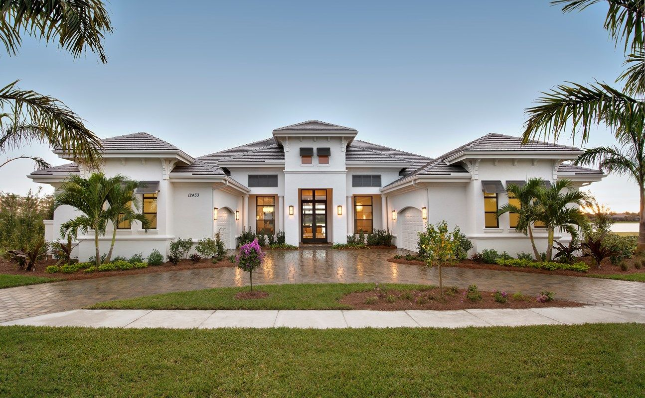Exterior featured in the Windsor III By Stock Development in Naples, FL