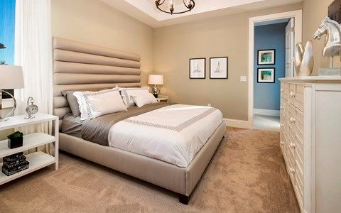 Bedroom featured in the Avondale By Stock Development in Naples, FL