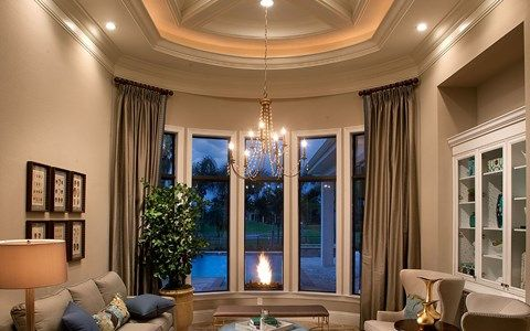 Living Area featured in the Hamilton By Stock Development in Naples, FL