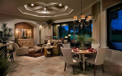 Living Area featured in the Muirfield V By Stock Development in Naples, FL