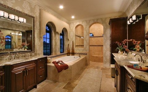 Bathroom featured in the Muirfield V By Stock Development in Naples, FL