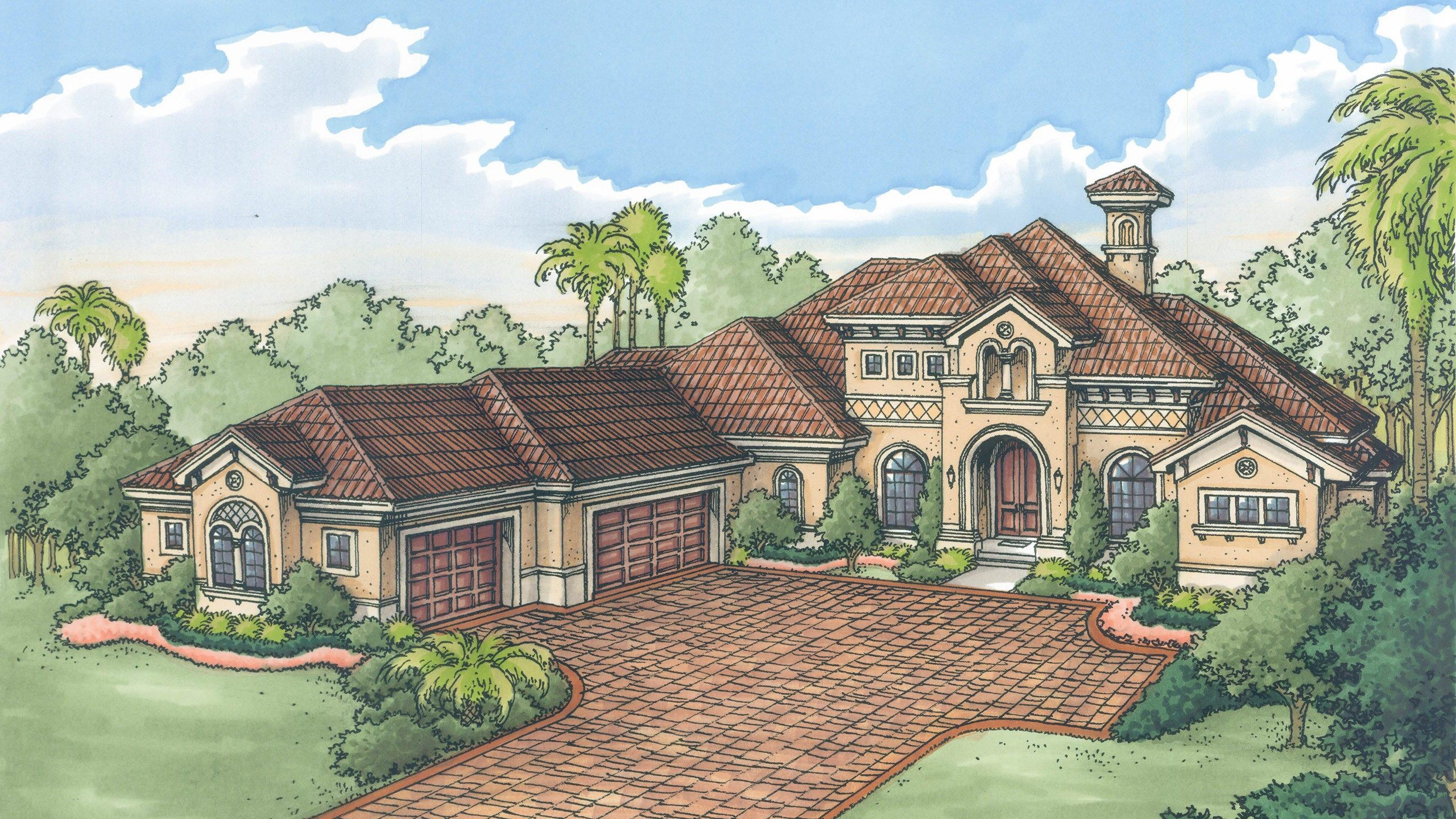 Exterior featured in the Muirfield V By Stock Development in Naples, FL