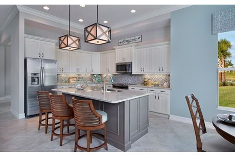 Kitchen-in-Venice-at-Hidden Harbor-in-Fort Myers