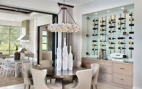 Wet-Bar-in-Gardenia II-at-Stock Signature Homes-in-Naples