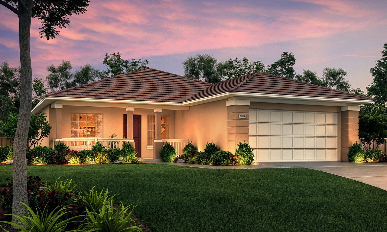 Exterior featured in The Mariposa By Stonefield Home in Merced, CA
