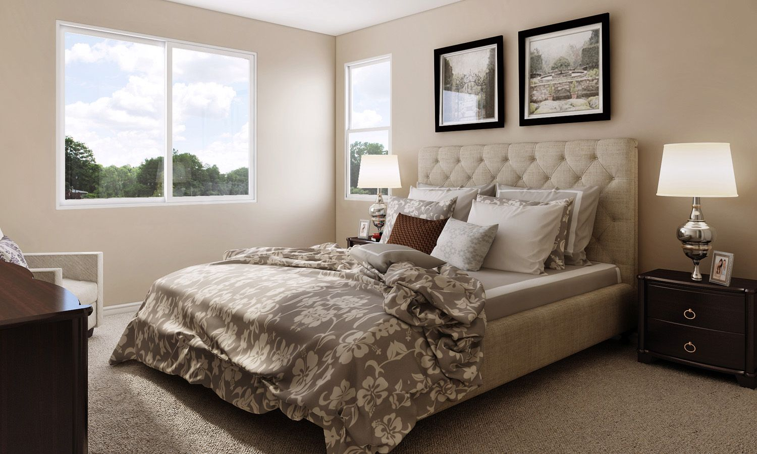 Bedroom featured in The Carrera By Stonefield Home in Merced, CA